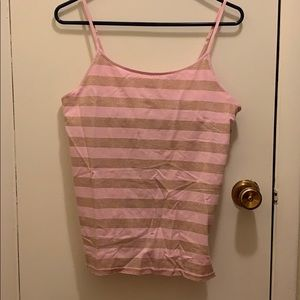 Pink and gold cami